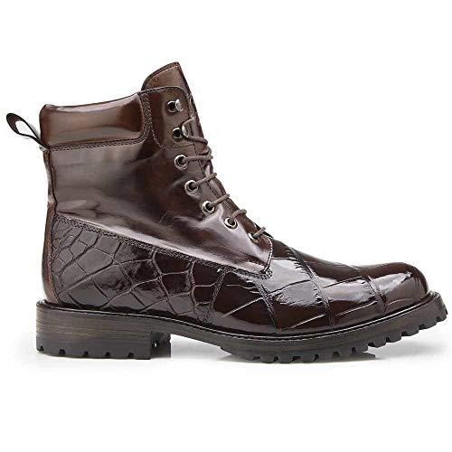 Buy Belvedere Logan Chocolate Genuine Alligator Combat Boots Online In Uganda B07hnbbp6m