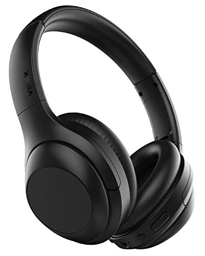 Vipex Bluetooth Headphones Bluetooth 5 0 Headphones Wireless Over Ear Headphones With Microphone All Day Power With 30 Hours Playtime Comfortable Protein Earpads Black Buy Products Online With Ubuy Uganda In Affordable Prices B083lm2w2w