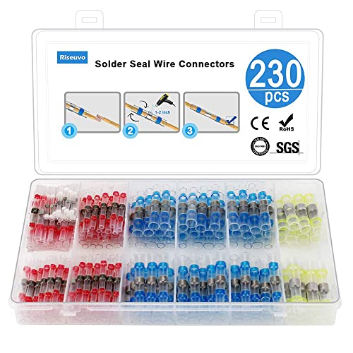Cobella 6 Kit Car Electrical Connector 1Pin 10cm Wire AWG Waterproof Electrical Connectors Plug Socket