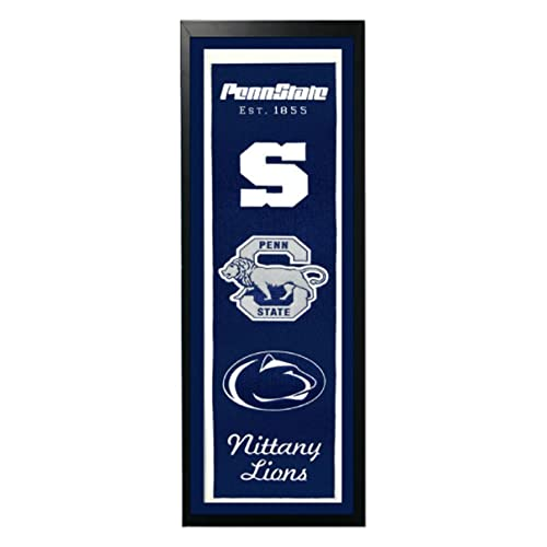 14-Inch by 37-Inch Encore Select 374-40 NCAA Penn State Nittany Lions Banner Frame