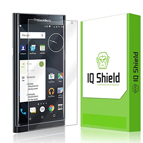 Anti-Glare Full Coverage IQ Shield Matte Full Body Skin Compatible with BlackBerry Priv Screen Protector and Anti-Bubble Film