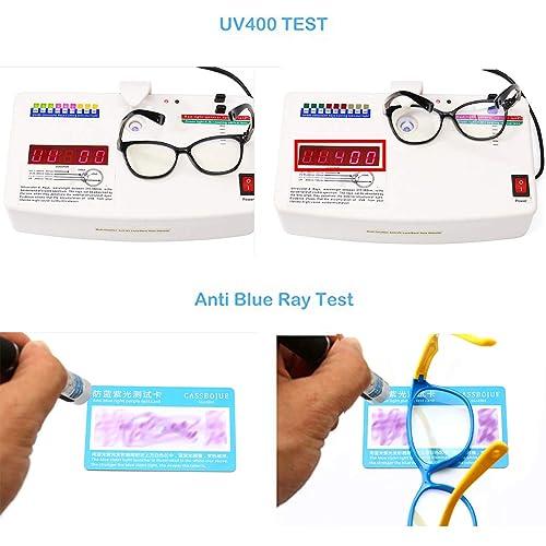 for Children Age 2-10 Kids Blue Light Blocking Glasses TPEE Rubber Flexible Frame With Glasses Rope