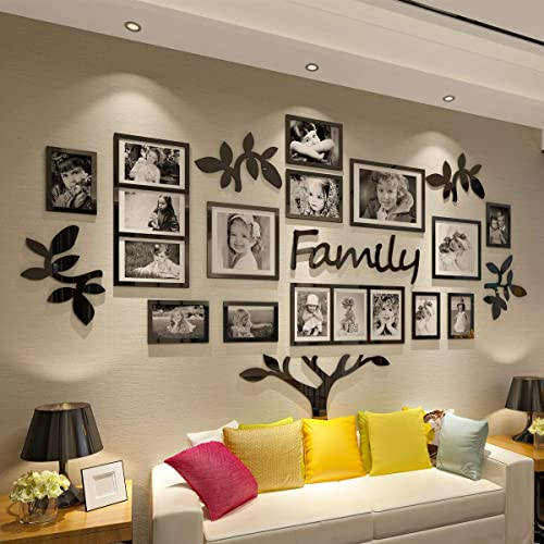 Buy Crazydeal Family Tree Picture Frame Collage 3d Diy Stickers Wall Art For Living Room Home Decor Gallery Large Online In Uganda B07pbtpxwz